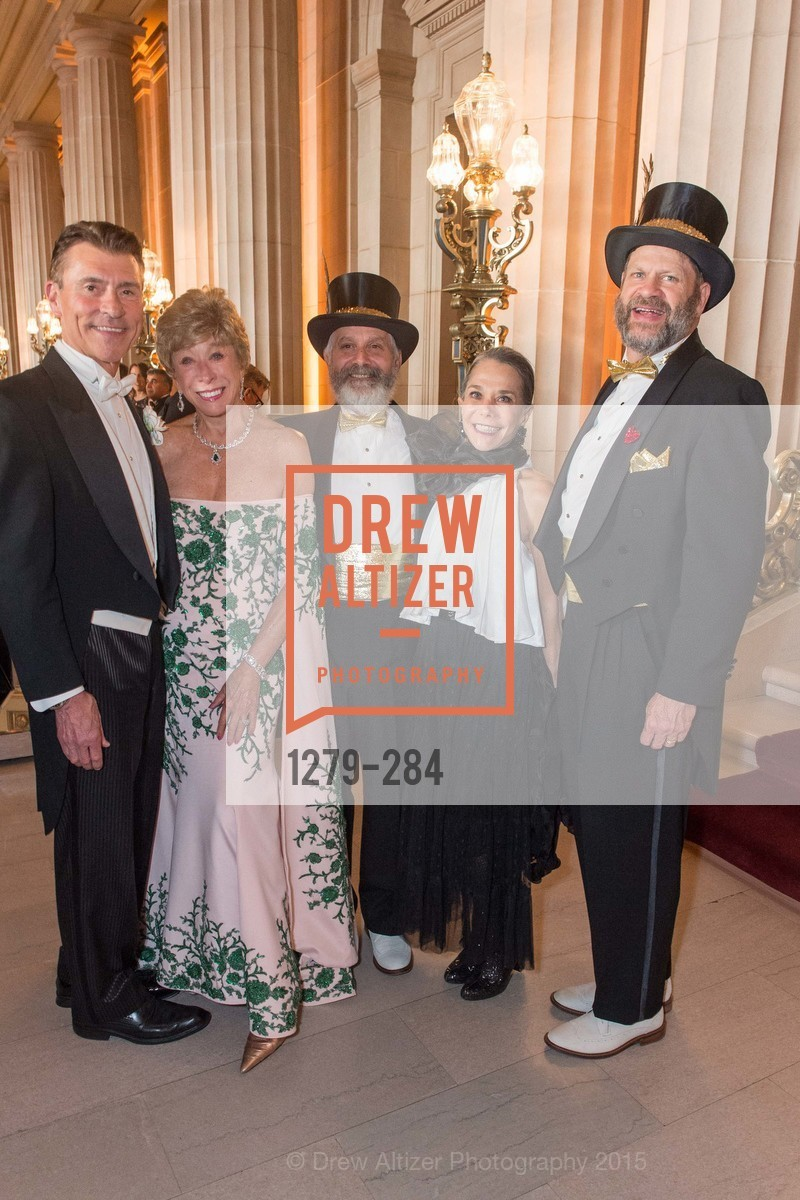 Robert Beadle, Maria Pitcairn, Randy Laroche, Julie Coplon, David Laudon, Opera Ball 2015: Moonlight & Music, War Memorial Opera House. 301 Van Ness Ave, September 11th, 2015,Drew Altizer, Drew Altizer Photography, full-service event agency, private events, San Francisco photographer, photographer California