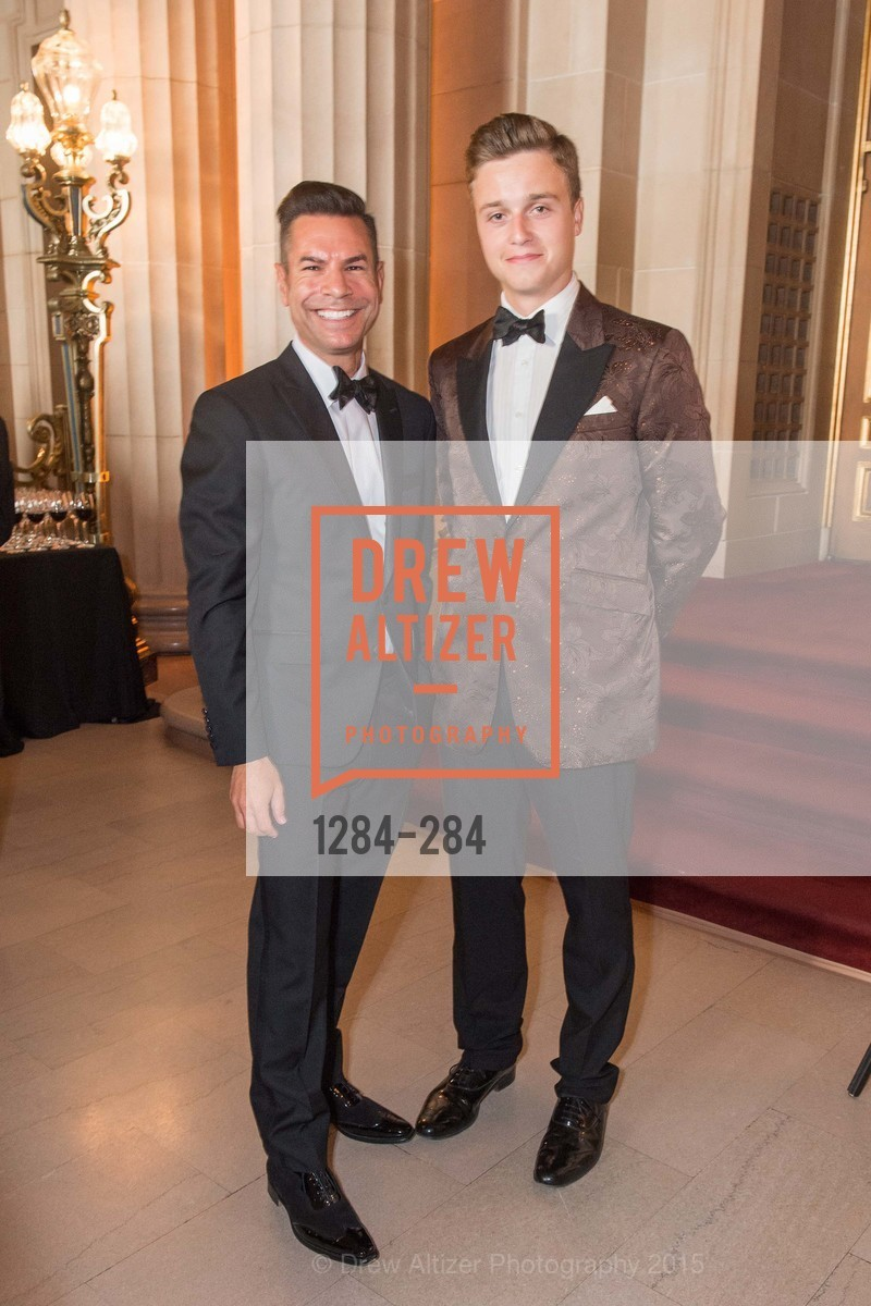 Robert Mison, Marco Hughes, Opera Ball 2015: Moonlight & Music, War Memorial Opera House. 301 Van Ness Ave, September 11th, 2015,Drew Altizer, Drew Altizer Photography, full-service agency, private events, San Francisco photographer, photographer california