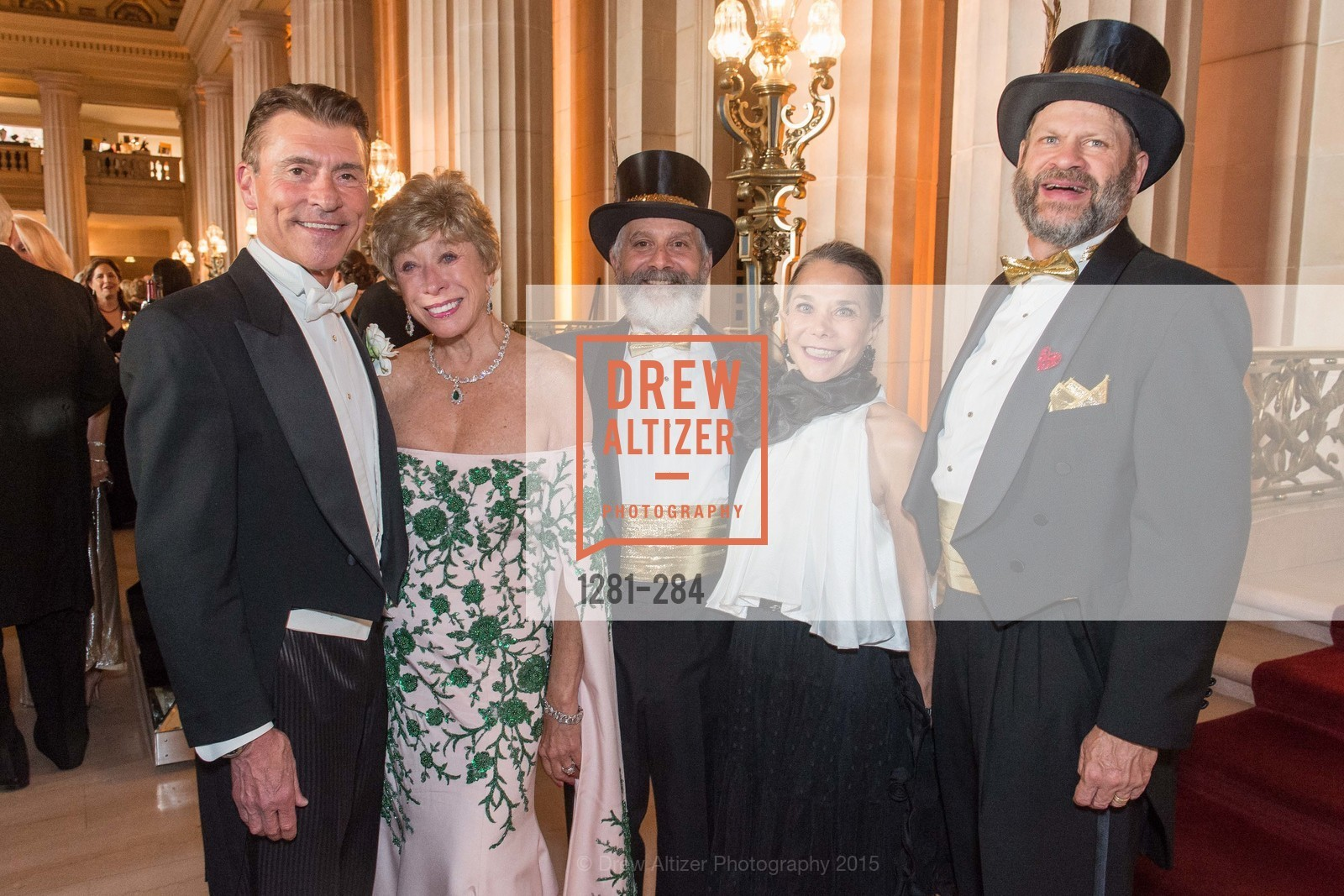 Robert Beadle, Maria Pitcairn, Randy Laroche, Julie Coplon, David Laudon, Opera Ball 2015: Moonlight & Music, War Memorial Opera House. 301 Van Ness Ave, September 11th, 2015,Drew Altizer, Drew Altizer Photography, full-service agency, private events, San Francisco photographer, photographer california