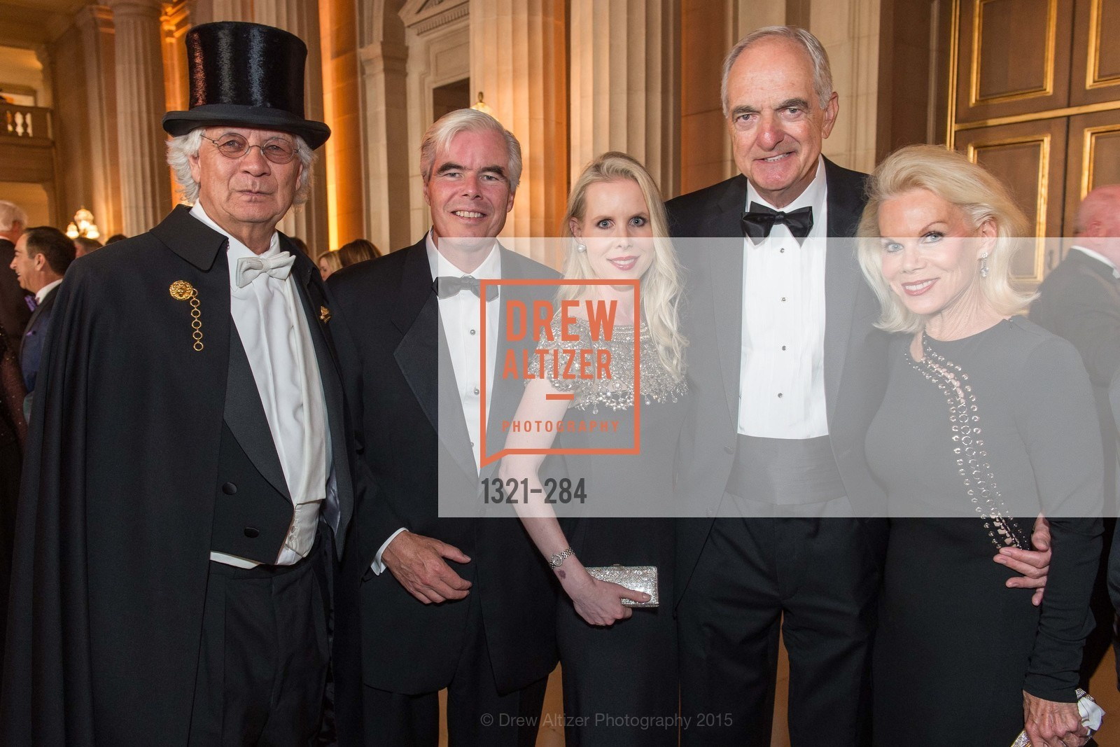 Theodore Brown, Dan Cronan, Shannon Cronan, Mike Milstein, Sandra Farris, Opera Ball 2015: Moonlight & Music, War Memorial Opera House. 301 Van Ness Ave, September 11th, 2015,Drew Altizer, Drew Altizer Photography, full-service agency, private events, San Francisco photographer, photographer california