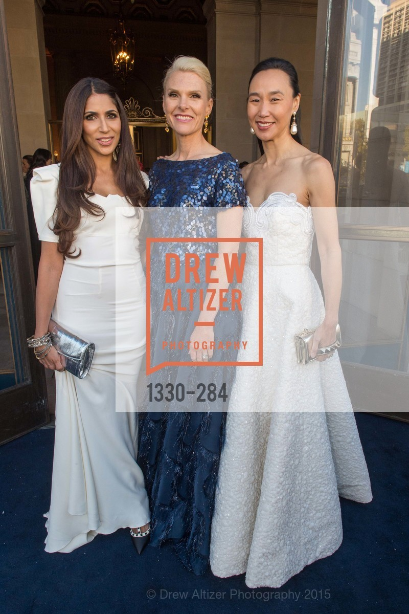 Sobia Shaik, Linle Froeb, Carolyn Chandler, Opera Ball 2015: Moonlight & Music, War Memorial Opera House. 301 Van Ness Ave, September 11th, 2015,Drew Altizer, Drew Altizer Photography, full-service event agency, private events, San Francisco photographer, photographer California
