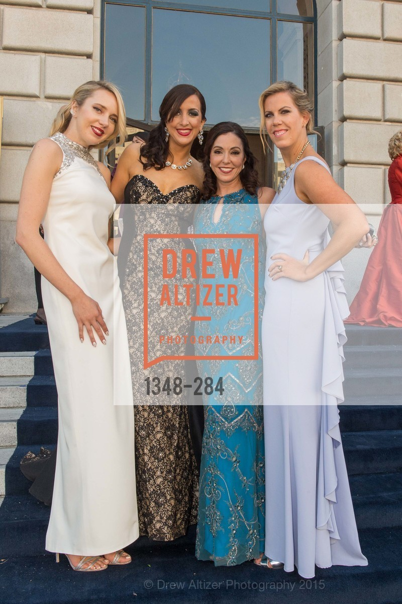 Laurie Diab, Shannon Eliot, Marybeth Lamotte, Lauren Groff, Opera Ball 2015: Moonlight & Music, War Memorial Opera House. 301 Van Ness Ave, September 11th, 2015,Drew Altizer, Drew Altizer Photography, full-service agency, private events, San Francisco photographer, photographer california