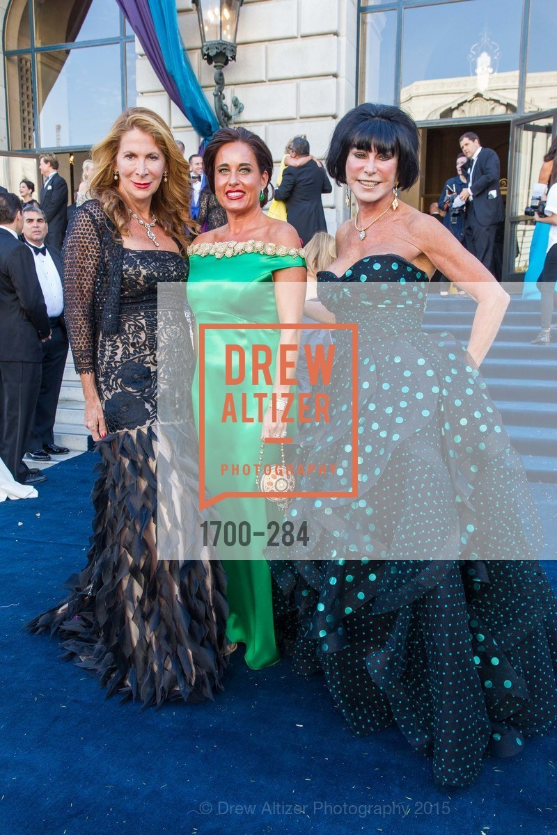 Patricia Ferrin Loucks, Natalia Urrutia, Marilyn Cabak, Opera Ball 2015: Moonlight & Music, War Memorial Opera House. 301 Van Ness Ave, September 11th, 2015,Drew Altizer, Drew Altizer Photography, full-service agency, private events, San Francisco photographer, photographer california