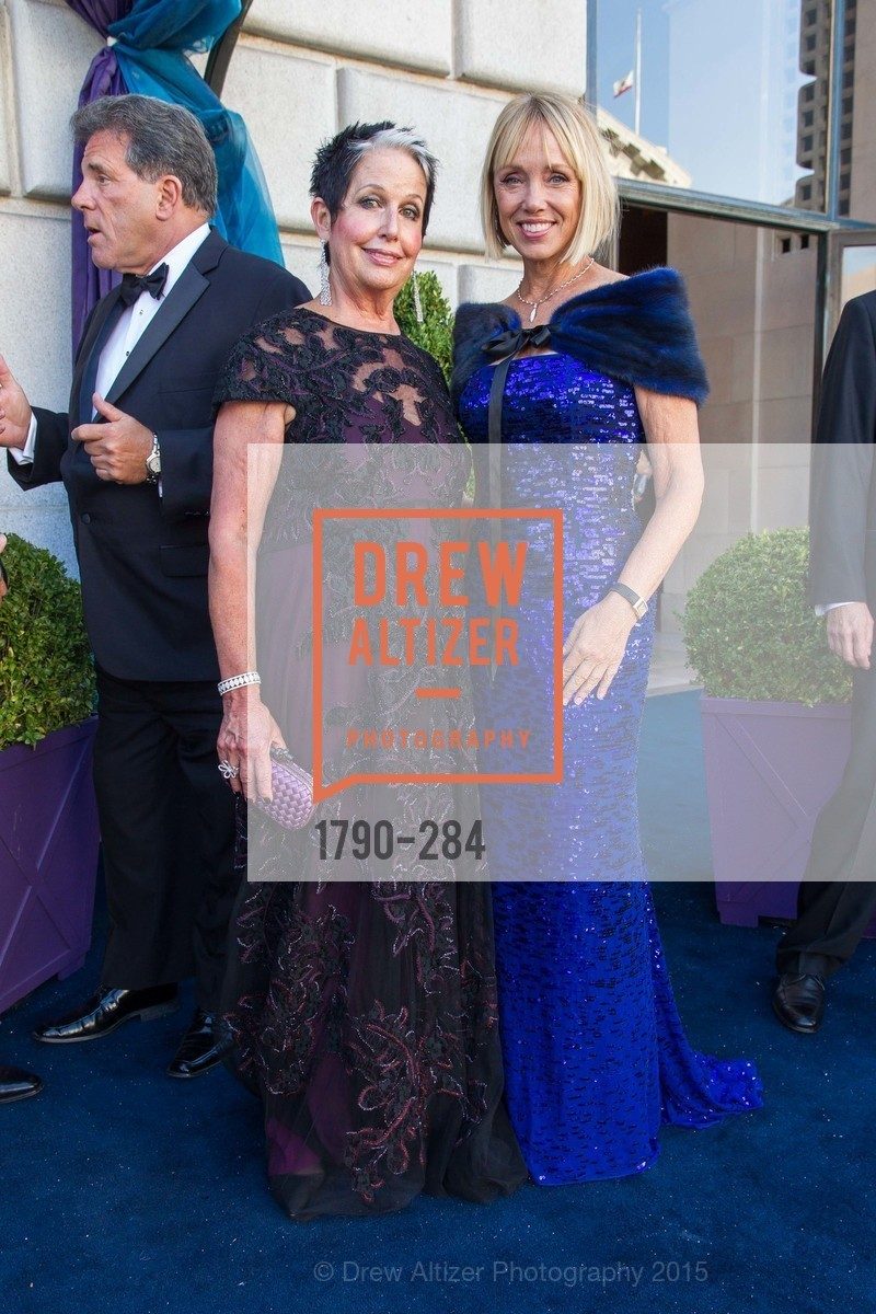 Karen Kubin, Diane Rubin, Opera Ball 2015: Moonlight & Music, War Memorial Opera House. 301 Van Ness Ave, September 11th, 2015,Drew Altizer, Drew Altizer Photography, full-service agency, private events, San Francisco photographer, photographer california