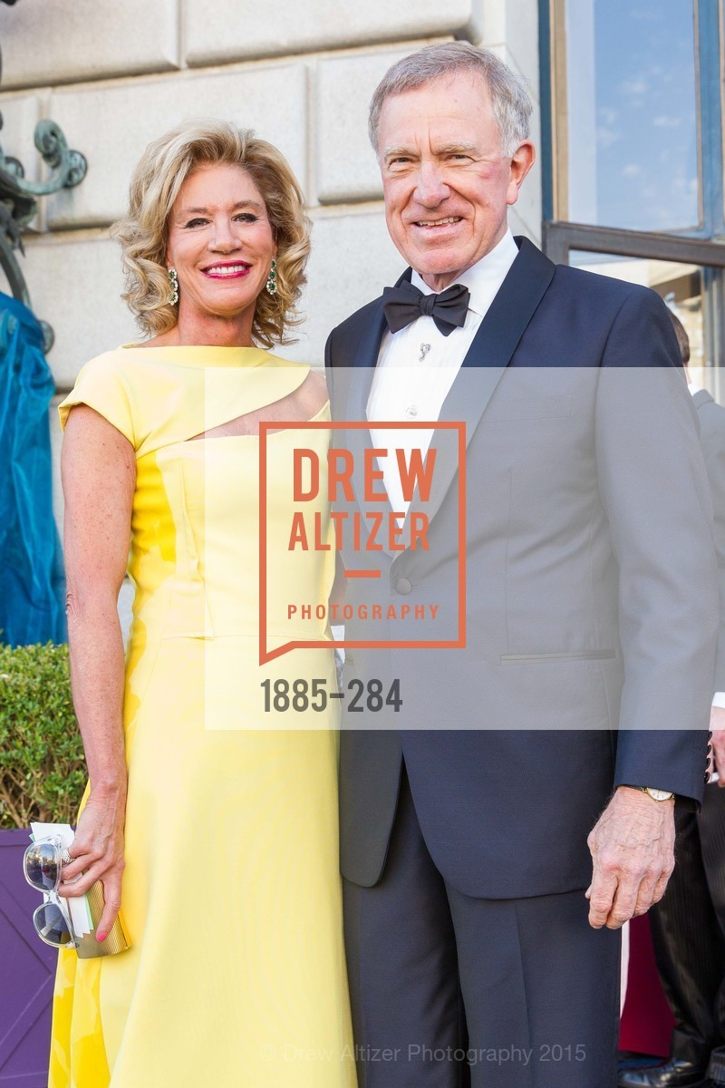 Mary Poland, Bill Poland, Opera Ball 2015: Moonlight & Music, War Memorial Opera House. 301 Van Ness Ave, September 11th, 2015,Drew Altizer, Drew Altizer Photography, full-service agency, private events, San Francisco photographer, photographer california
