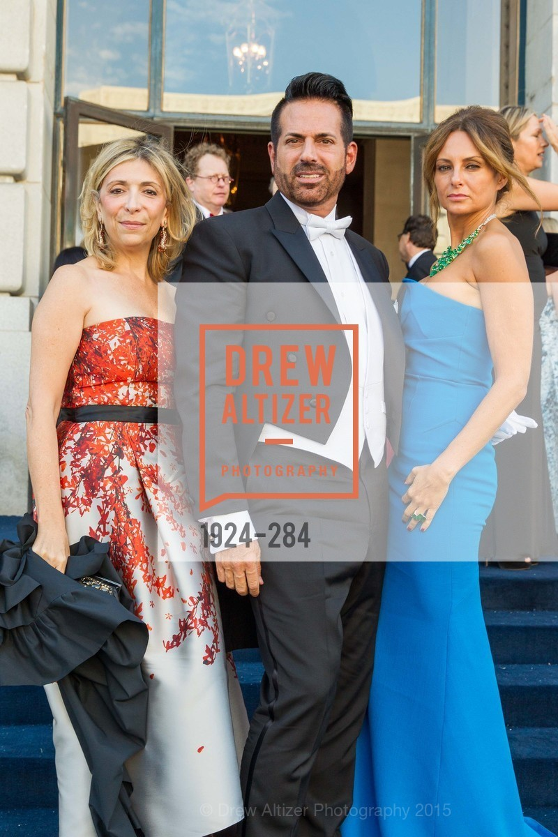 Denis De Luca, Giovanni Mattera, Sabrina Baldieri, Opera Ball 2015: Moonlight & Music, War Memorial Opera House. 301 Van Ness Ave, September 11th, 2015,Drew Altizer, Drew Altizer Photography, full-service event agency, private events, San Francisco photographer, photographer California