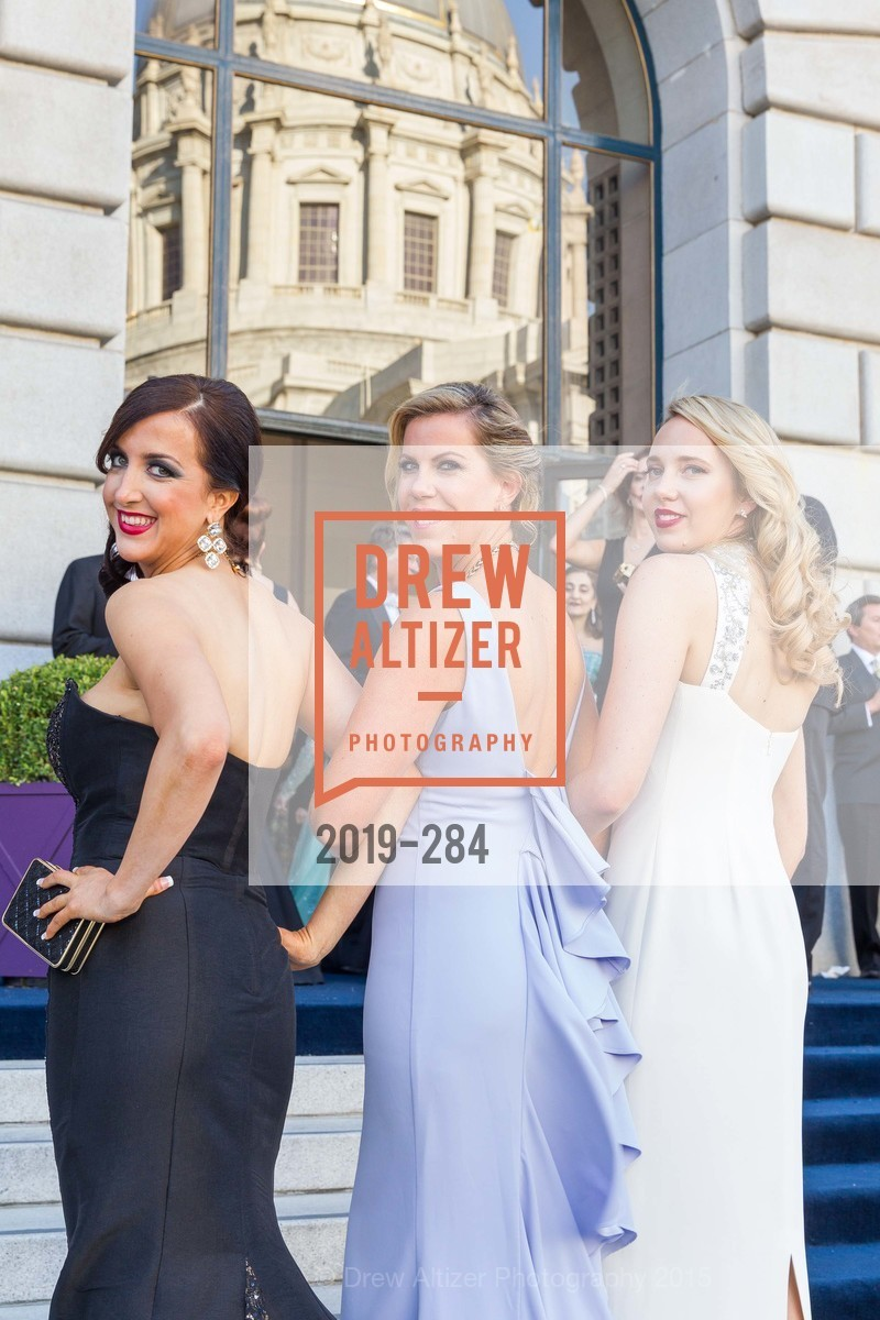 Shannon Eliot, Lauren Groff, Laurie Diab, Opera Ball 2015: Moonlight & Music, War Memorial Opera House. 301 Van Ness Ave, September 11th, 2015,Drew Altizer, Drew Altizer Photography, full-service agency, private events, San Francisco photographer, photographer california