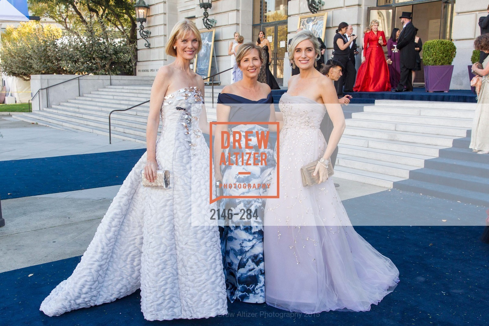 Karen Richardson, Debbie Muller, Renata Anderson, Opera Ball 2015: Moonlight & Music, War Memorial Opera House. 301 Van Ness Ave, September 11th, 2015,Drew Altizer, Drew Altizer Photography, full-service agency, private events, San Francisco photographer, photographer california