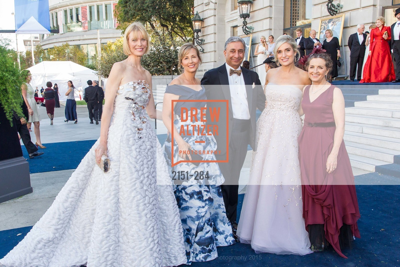 Karen Richardson, Debbie Muller, Raj Singh, Renata Anderson, Sarah Ratchye, Opera Ball 2015: Moonlight & Music, War Memorial Opera House. 301 Van Ness Ave, September 11th, 2015,Drew Altizer, Drew Altizer Photography, full-service agency, private events, San Francisco photographer, photographer california
