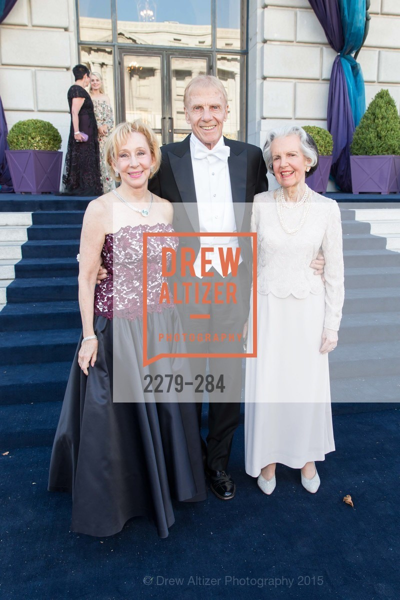 Pamela Rigg, Richard Rigg, Flo Bryan, Opera Ball 2015: Moonlight & Music, War Memorial Opera House. 301 Van Ness Ave, September 11th, 2015,Drew Altizer, Drew Altizer Photography, full-service agency, private events, San Francisco photographer, photographer california
