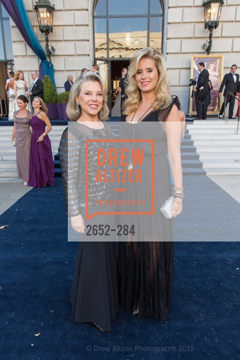 Jeanne Lawrence, Stephanie Lawrence, Opera Ball 2015: Moonlight & Music, War Memorial Opera House. 301 Van Ness Ave, September 11th, 2015,Drew Altizer, Drew Altizer Photography, full-service event agency, private events, San Francisco photographer, photographer California