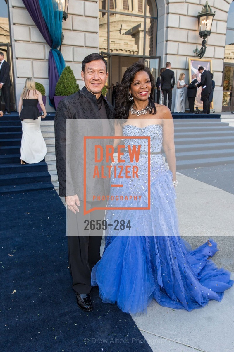 Tim Wu, Pamela Joyner, Opera Ball 2015: Moonlight & Music, War Memorial Opera House. 301 Van Ness Ave, September 11th, 2015,Drew Altizer, Drew Altizer Photography, full-service event agency, private events, San Francisco photographer, photographer California