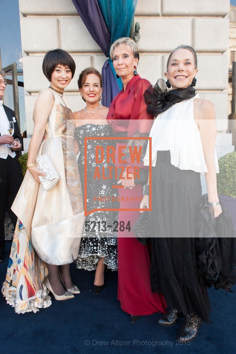 Yuka Uehara, Robin Collins, Sallie Huntting, Julie Coplon, Opera Ball 2015: Moonlight & Music, War Memorial Opera House. 301 Van Ness Ave, September 11th, 2015,Drew Altizer, Drew Altizer Photography, full-service event agency, private events, San Francisco photographer, photographer California