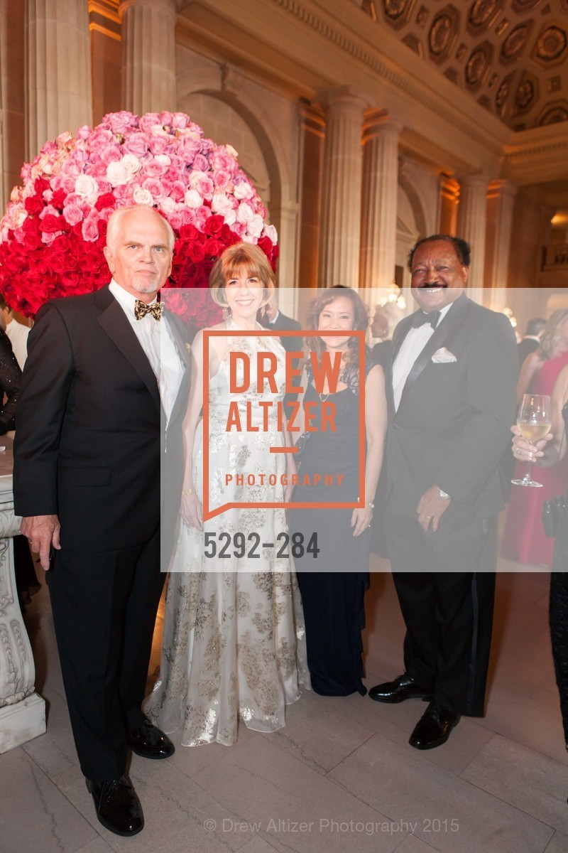 Michael Broach, Nancy Cunningham Clark, Nina Belle, Charles Belle, Opera Ball 2015: Moonlight & Music, War Memorial Opera House. 301 Van Ness Ave, September 11th, 2015,Drew Altizer, Drew Altizer Photography, full-service agency, private events, San Francisco photographer, photographer california