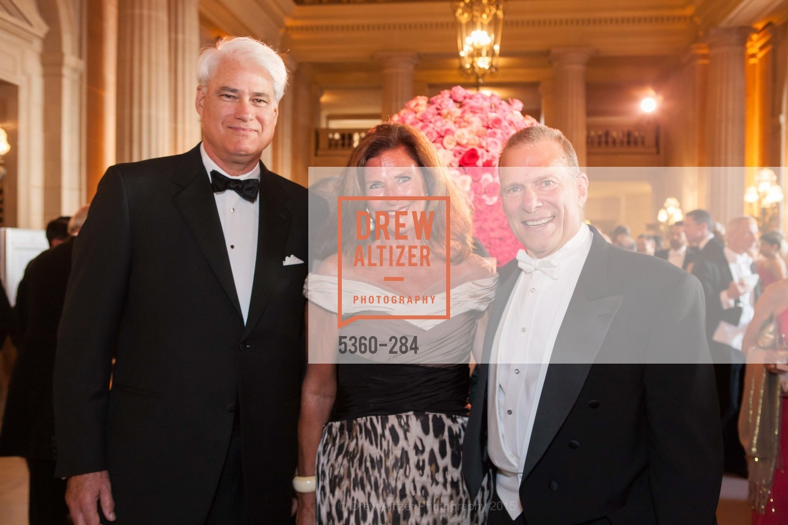 Philip Wilson, Linda Zider, David Gockley, Opera Ball 2015: Moonlight & Music, War Memorial Opera House. 301 Van Ness Ave, September 11th, 2015,Drew Altizer, Drew Altizer Photography, full-service agency, private events, San Francisco photographer, photographer california