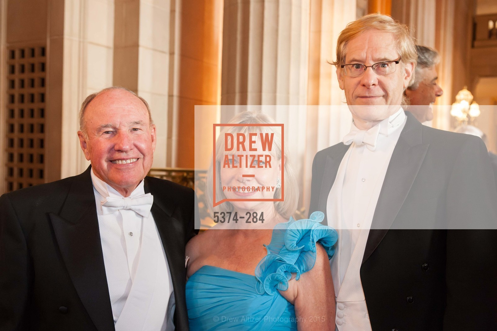 Frederic Smith, Gloria Walli, John Kerns, Opera Ball 2015: Moonlight & Music, War Memorial Opera House. 301 Van Ness Ave, September 11th, 2015,Drew Altizer, Drew Altizer Photography, full-service agency, private events, San Francisco photographer, photographer california
