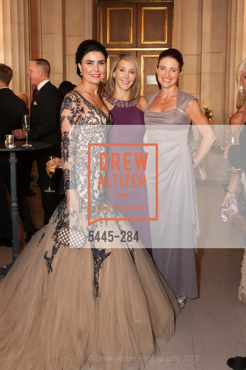Afsaneh Akhtari, Eileen Blum Bourgade, Anne Laury, Opera Ball 2015: Moonlight & Music, War Memorial Opera House. 301 Van Ness Ave, September 11th, 2015,Drew Altizer, Drew Altizer Photography, full-service agency, private events, San Francisco photographer, photographer california