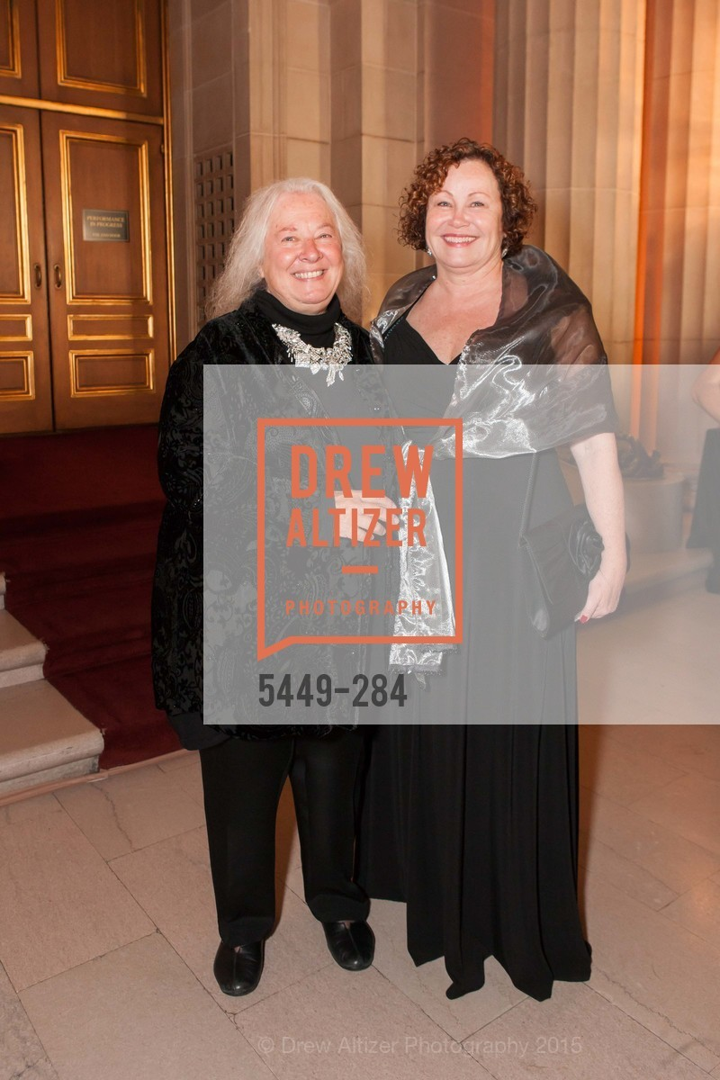 Helen Meyer, Karen Ames, Opera Ball 2015: Moonlight & Music, War Memorial Opera House. 301 Van Ness Ave, September 11th, 2015,Drew Altizer, Drew Altizer Photography, full-service event agency, private events, San Francisco photographer, photographer California