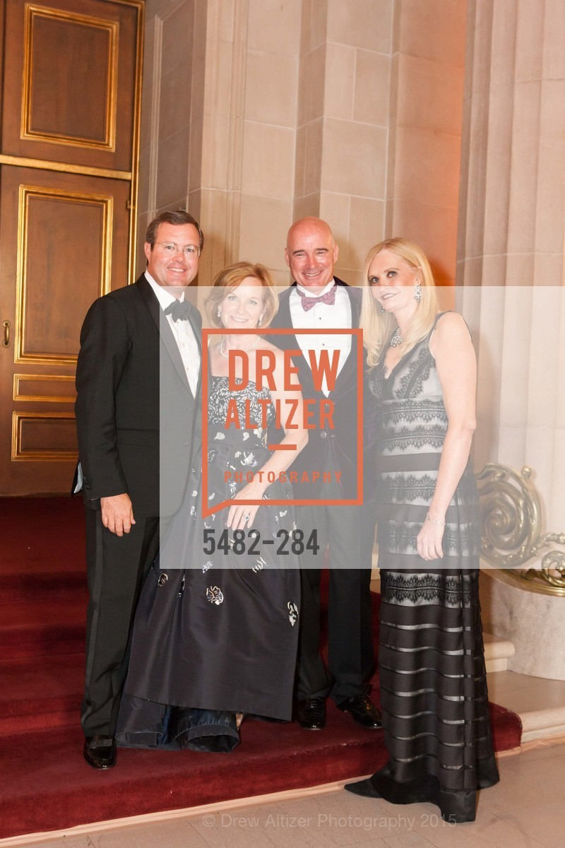 Charles Griffith, Jane Griffith, Christopher Freye, Beth Townsend, Opera Ball 2015: Moonlight & Music, War Memorial Opera House. 301 Van Ness Ave, September 11th, 2015,Drew Altizer, Drew Altizer Photography, full-service agency, private events, San Francisco photographer, photographer california