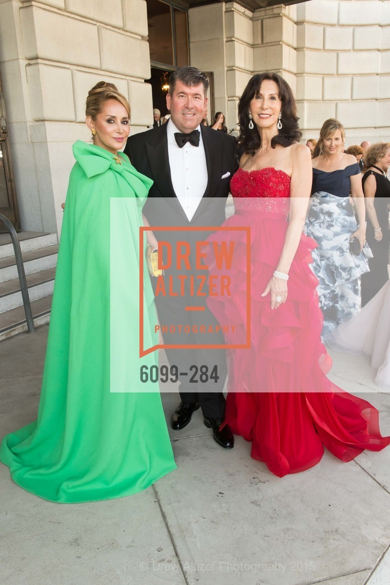 Brenda Zarate, Alan Morrell, Carolyn Chandler, Opera Ball 2015: Moonlight & Music, War Memorial Opera House. 301 Van Ness Ave, September 11th, 2015,Drew Altizer, Drew Altizer Photography, full-service agency, private events, San Francisco photographer, photographer california