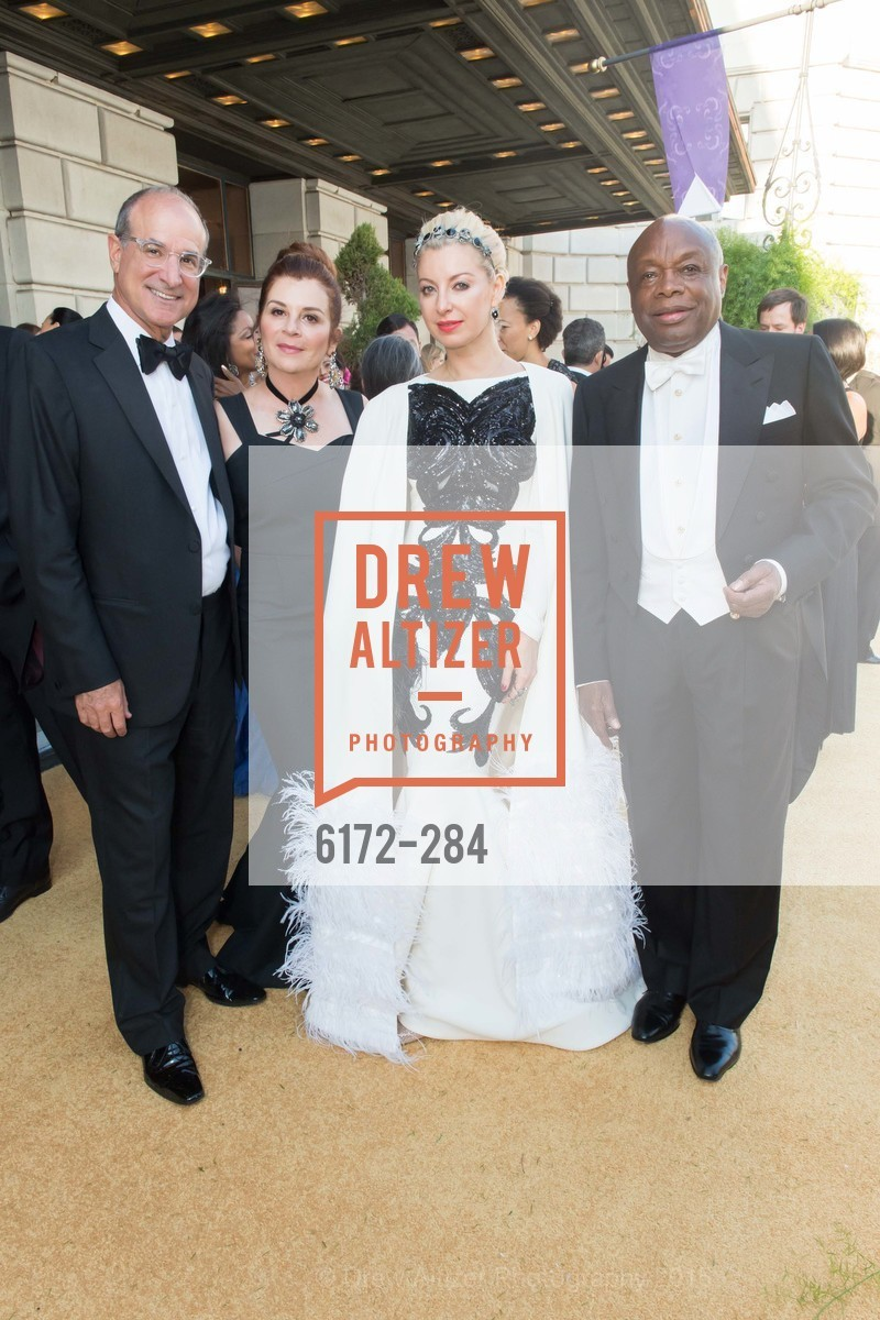 Victor Makras, Farah Makras, Sonya Molodetskaya, Willie Brown, Opera Ball 2015: Moonlight & Music, War Memorial Opera House. 301 Van Ness Ave, September 11th, 2015,Drew Altizer, Drew Altizer Photography, full-service agency, private events, San Francisco photographer, photographer california