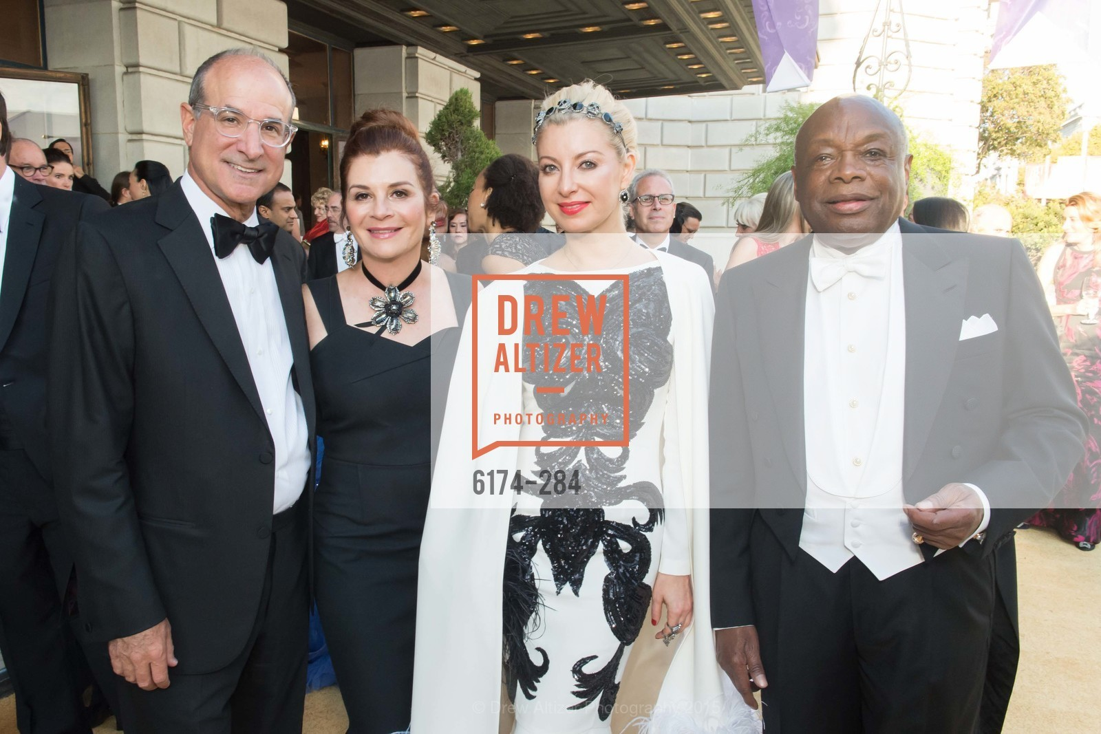 Victor Makras, Farah Makras, Sonya Molodetskaya, Willie Brown, Opera Ball 2015: Moonlight & Music, War Memorial Opera House. 301 Van Ness Ave, September 11th, 2015,Drew Altizer, Drew Altizer Photography, full-service event agency, private events, San Francisco photographer, photographer California