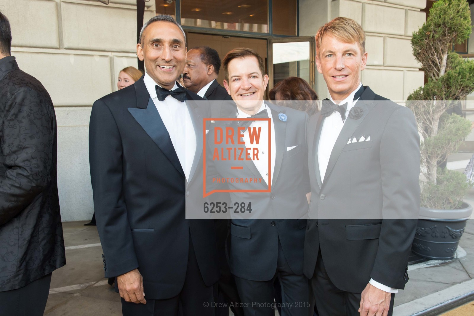 Inder Dhillon, Trent Norris, Jack Calhoun, Opera Ball 2015: Moonlight & Music, War Memorial Opera House. 301 Van Ness Ave, September 11th, 2015,Drew Altizer, Drew Altizer Photography, full-service agency, private events, San Francisco photographer, photographer california