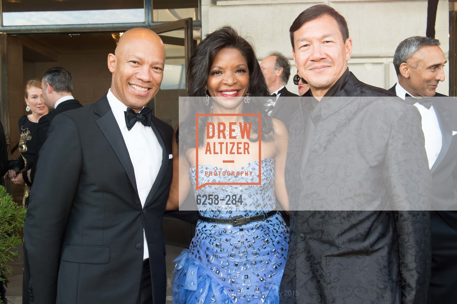 Ken McNeely, Pamela Joyner, Tim Wu, Opera Ball 2015: Moonlight & Music, War Memorial Opera House. 301 Van Ness Ave, September 11th, 2015,Drew Altizer, Drew Altizer Photography, full-service agency, private events, San Francisco photographer, photographer california