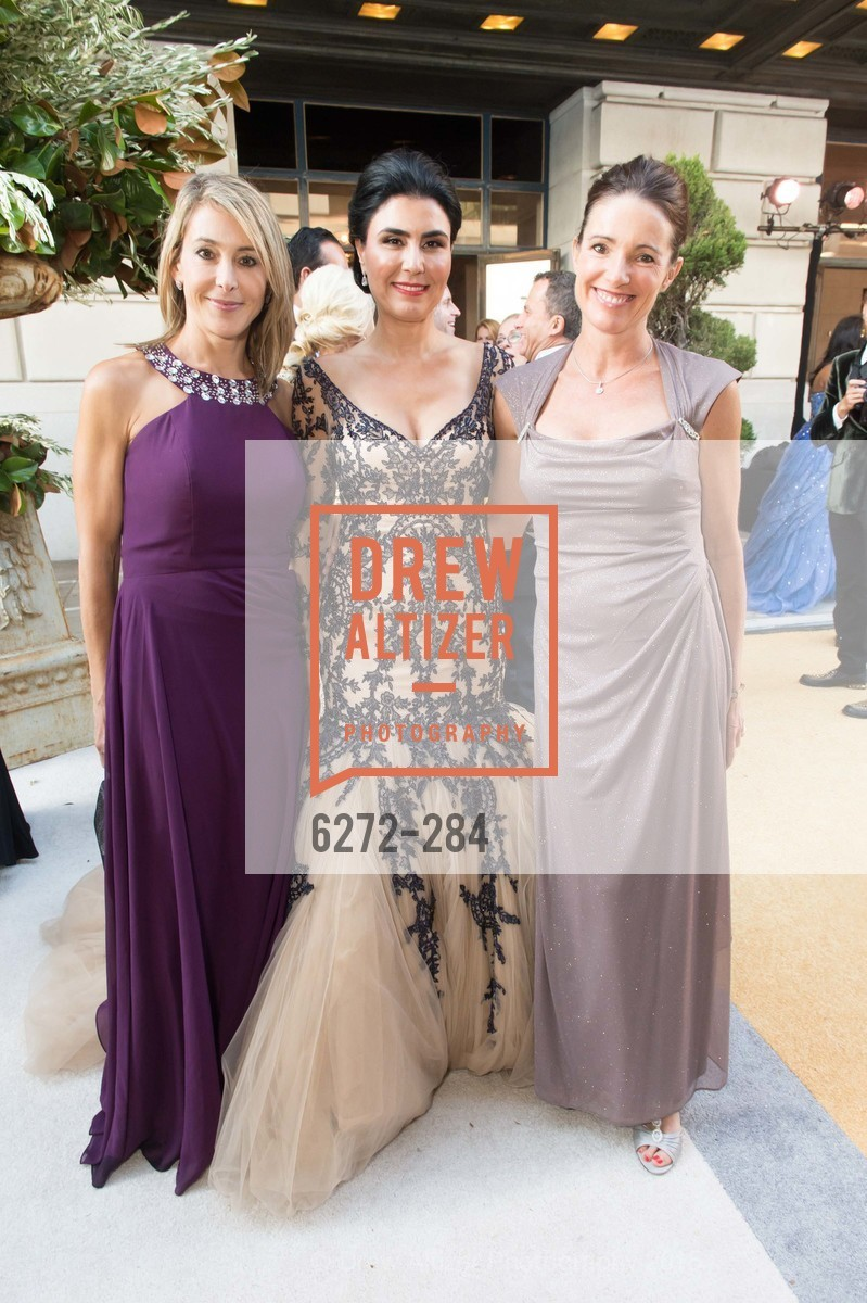 Eileen Blum Bourgade, Afsaneh Akhtari, Anne Laury, Opera Ball 2015: Moonlight & Music, War Memorial Opera House. 301 Van Ness Ave, September 11th, 2015,Drew Altizer, Drew Altizer Photography, full-service agency, private events, San Francisco photographer, photographer california