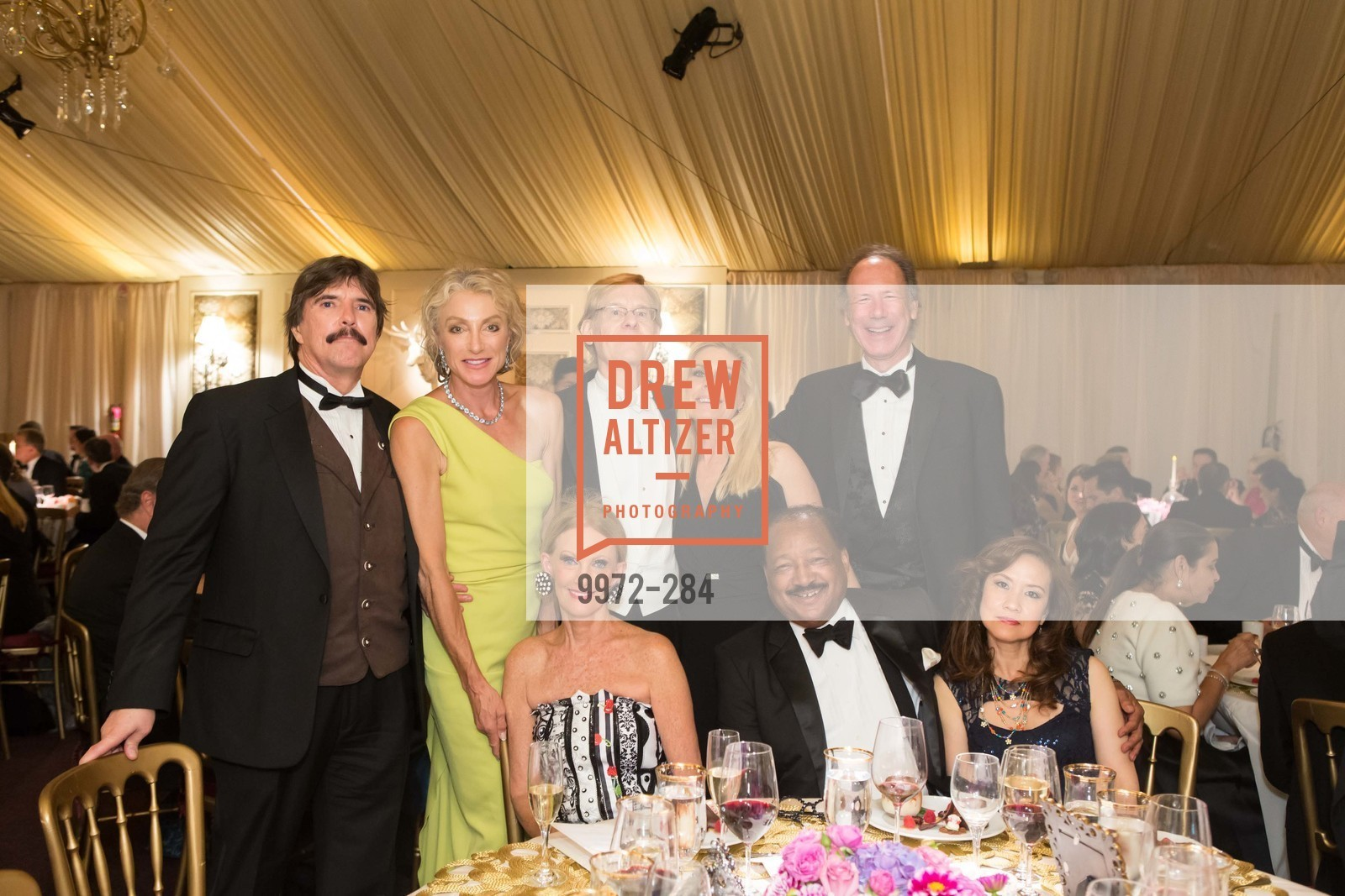 John Rosin, Alisa Burgess-Blajwas, Belinda Berry, Larry Kern, Jacqueline Jacoby, Charles Belle, Tom Barrett, Nina Belle, Opera Ball 2015: Moonlight & Music, War Memorial Opera House. 301 Van Ness Ave, September 11th, 2015,Drew Altizer, Drew Altizer Photography, full-service agency, private events, San Francisco photographer, photographer california