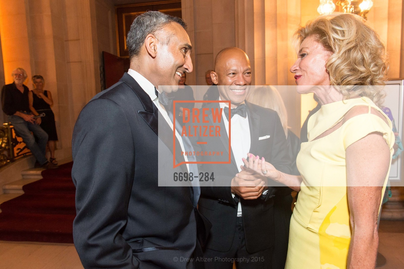 Inder Dhillon, Ken McNeely, Mary Poland, Opera Ball 2015: Moonlight & Music, War Memorial Opera House. 301 Van Ness Ave, September 11th, 2015,Drew Altizer, Drew Altizer Photography, full-service agency, private events, San Francisco photographer, photographer california