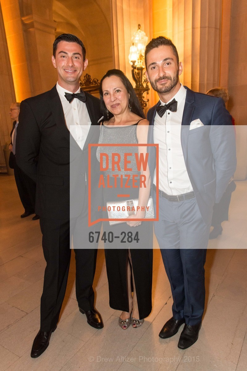 Murad Yeshchin, Sofia Viktimir, Nick Yeshchin, Opera Ball 2015: Moonlight & Music, War Memorial Opera House. 301 Van Ness Ave, September 11th, 2015,Drew Altizer, Drew Altizer Photography, full-service agency, private events, San Francisco photographer, photographer california