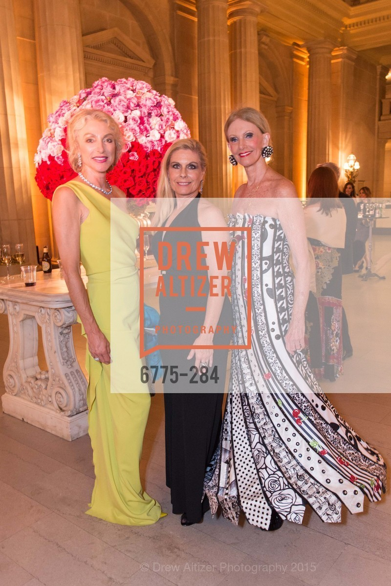 Alisa Burgess-Blajwas, Jacqueline Jacoby, Belinda Berry, Opera Ball 2015: Moonlight & Music, War Memorial Opera House. 301 Van Ness Ave, September 11th, 2015,Drew Altizer, Drew Altizer Photography, full-service agency, private events, San Francisco photographer, photographer california