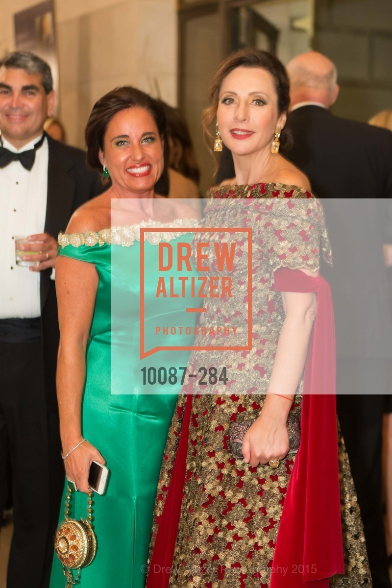 Natalia Urrutia, Clara Shayevich, Opera Ball 2015: Moonlight & Music, War Memorial Opera House. 301 Van Ness Ave, September 11th, 2015,Drew Altizer, Drew Altizer Photography, full-service event agency, private events, San Francisco photographer, photographer California