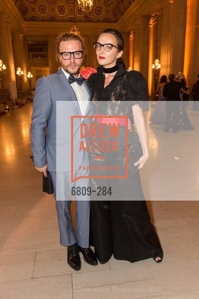 Vasily Vein, Anastasia Bachykala, Opera Ball 2015: Moonlight & Music, War Memorial Opera House. 301 Van Ness Ave, September 11th, 2015,Drew Altizer, Drew Altizer Photography, full-service agency, private events, San Francisco photographer, photographer california