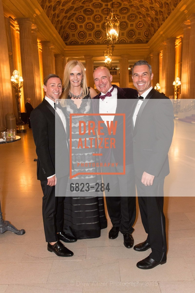 Mark Rhoades, Beth Townsend, Christopher Freye, Jerome Molles, Opera Ball 2015: Moonlight & Music, War Memorial Opera House. 301 Van Ness Ave, September 11th, 2015,Drew Altizer, Drew Altizer Photography, full-service agency, private events, San Francisco photographer, photographer california