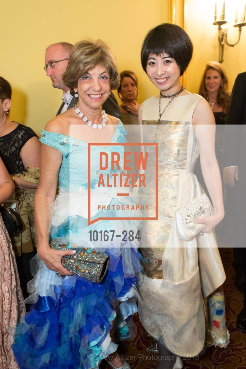 Ludmila Eggleton, Yuka Uehara, Opera Ball 2015: Moonlight & Music, War Memorial Opera House. 301 Van Ness Ave, September 11th, 2015,Drew Altizer, Drew Altizer Photography, full-service agency, private events, San Francisco photographer, photographer california