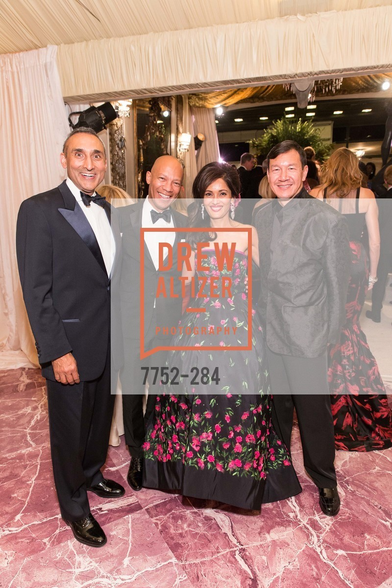 Inder Dhillon, Ken McNeely, Komal Shah, Tim Wu, Opera Ball 2015: Moonlight & Music, War Memorial Opera House. 301 Van Ness Ave, September 11th, 2015,Drew Altizer, Drew Altizer Photography, full-service agency, private events, San Francisco photographer, photographer california