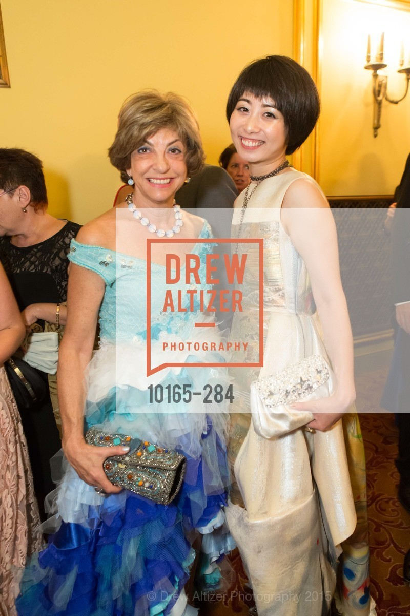 Ludmila Eggleton, Yuka Uehara, Opera Ball 2015: Moonlight & Music, War Memorial Opera House. 301 Van Ness Ave, September 11th, 2015,Drew Altizer, Drew Altizer Photography, full-service event agency, private events, San Francisco photographer, photographer California