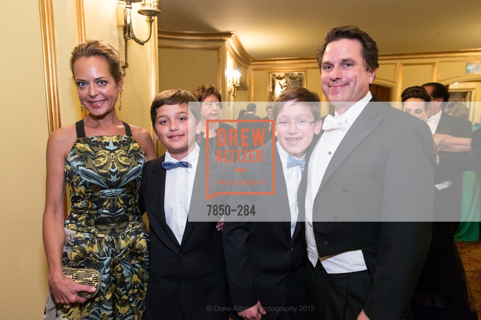Charlot Malin, Benjamin Malin, Sebastian Malin, Gregory Malin, Opera Ball 2015: Moonlight & Music, War Memorial Opera House. 301 Van Ness Ave, September 11th, 2015,Drew Altizer, Drew Altizer Photography, full-service agency, private events, San Francisco photographer, photographer california