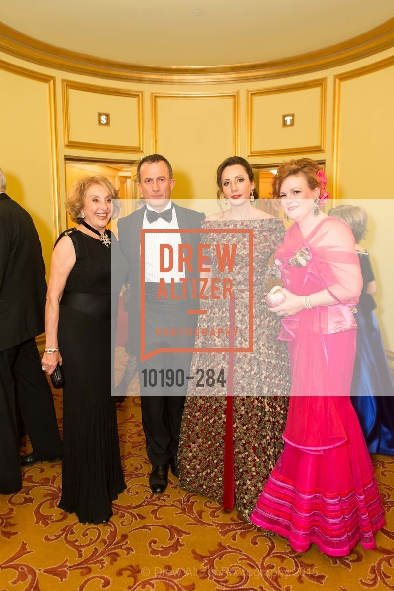 Nazan Orr, Jorge Maumer, Clara Shayevich, Jennifer Raiser, Opera Ball 2015: Moonlight & Music, War Memorial Opera House. 301 Van Ness Ave, September 11th, 2015,Drew Altizer, Drew Altizer Photography, full-service agency, private events, San Francisco photographer, photographer california