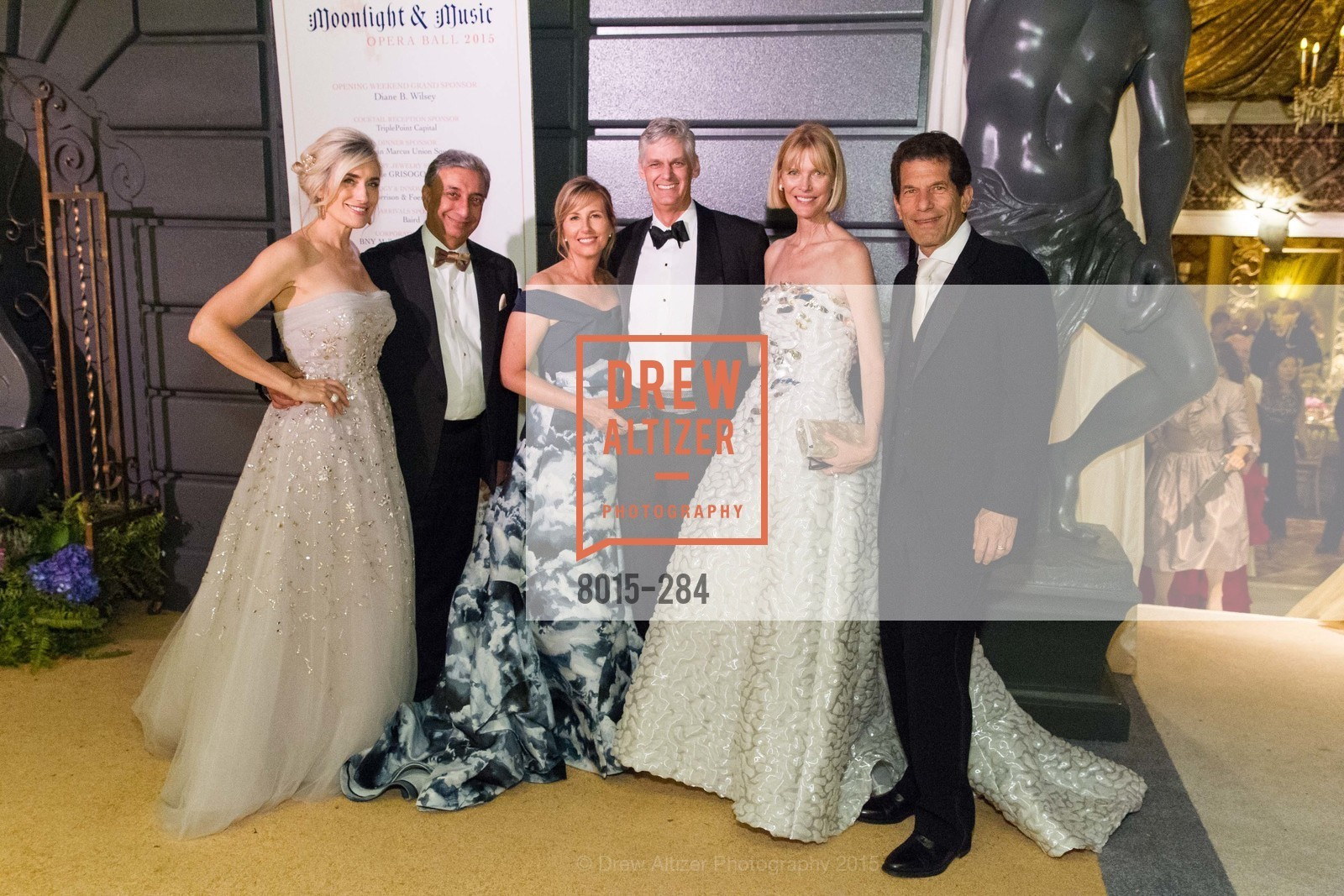 Renata Anderson, Raj Singh, Debbie Muller, David Barber, Karen Richardson, John Rubinstein, Opera Ball 2015: Moonlight & Music, War Memorial Opera House. 301 Van Ness Ave, September 11th, 2015,Drew Altizer, Drew Altizer Photography, full-service agency, private events, San Francisco photographer, photographer california