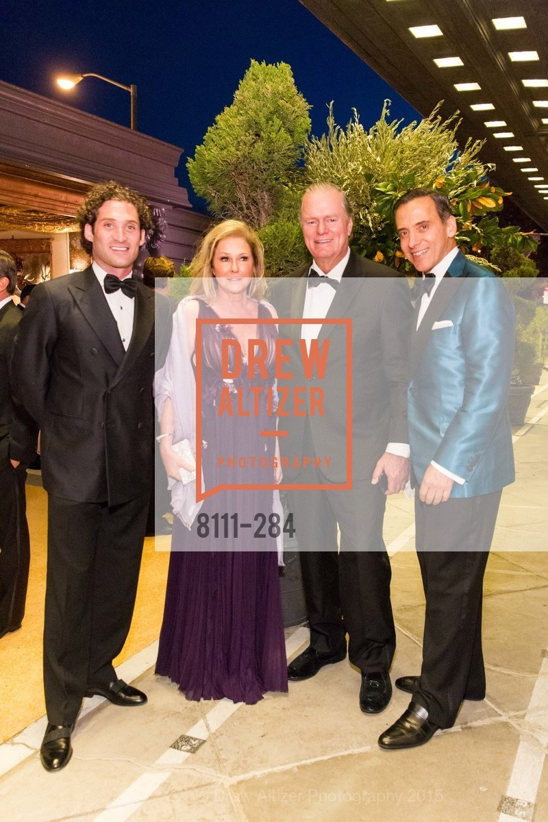 Justin Fichelson, Kathy Hilton, Richard Hilton, Alan Malouf, Opera Ball 2015: Moonlight & Music, War Memorial Opera House. 301 Van Ness Ave, September 11th, 2015,Drew Altizer, Drew Altizer Photography, full-service agency, private events, San Francisco photographer, photographer california