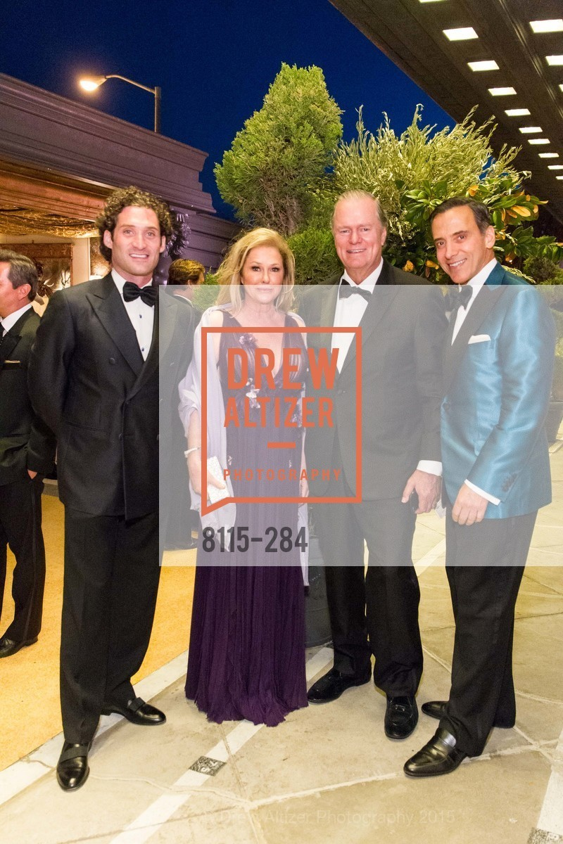 Justin Fichelson, Kathy Hilton, Richard Hilton, Alan Malouf, Opera Ball 2015: Moonlight & Music, War Memorial Opera House. 301 Van Ness Ave, September 11th, 2015,Drew Altizer, Drew Altizer Photography, full-service event agency, private events, San Francisco photographer, photographer California