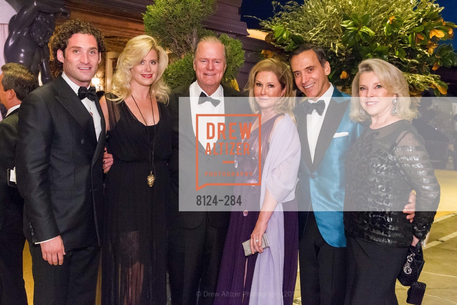 Justin Fichelson, Stephanie Lawrence, Richard Hilton, Kathy Hilton, Alan Malouf, Jeanne Lawrence, Opera Ball 2015: Moonlight & Music, War Memorial Opera House. 301 Van Ness Ave, September 11th, 2015,Drew Altizer, Drew Altizer Photography, full-service event agency, private events, San Francisco photographer, photographer California