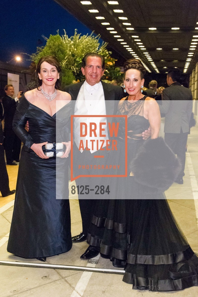 Elisa Stephens, Bob Federighi, Toni Wolfson, Opera Ball 2015: Moonlight & Music, War Memorial Opera House. 301 Van Ness Ave, September 11th, 2015,Drew Altizer, Drew Altizer Photography, full-service agency, private events, San Francisco photographer, photographer california