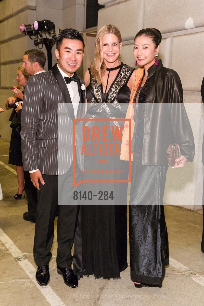 Kai Tan, Mary Beth Shimmon, Yuan Yuan Tan, Opera Ball 2015: Moonlight & Music, War Memorial Opera House. 301 Van Ness Ave, September 11th, 2015,Drew Altizer, Drew Altizer Photography, full-service agency, private events, San Francisco photographer, photographer california