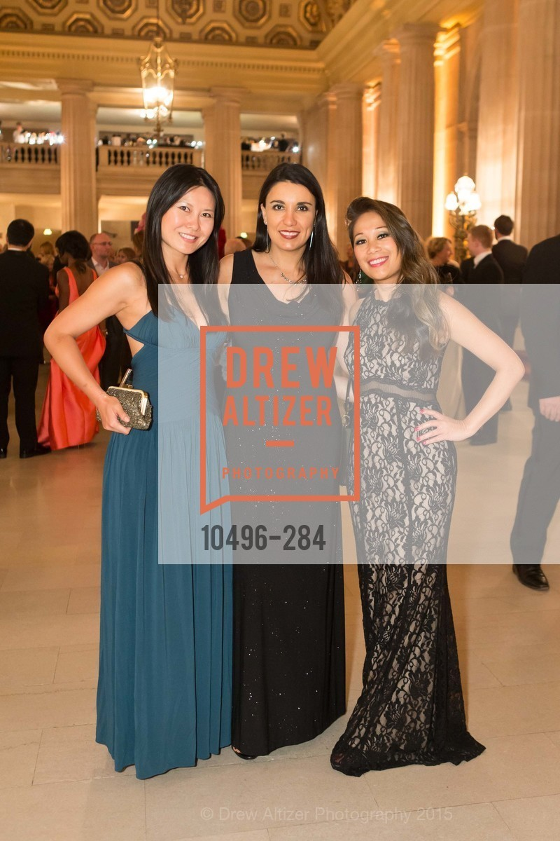 Dorothy Lin, Claudia Olvera, Susie Hui, Opera Ball 2015: Moonlight & Music, War Memorial Opera House. 301 Van Ness Ave, September 11th, 2015,Drew Altizer, Drew Altizer Photography, full-service agency, private events, San Francisco photographer, photographer california