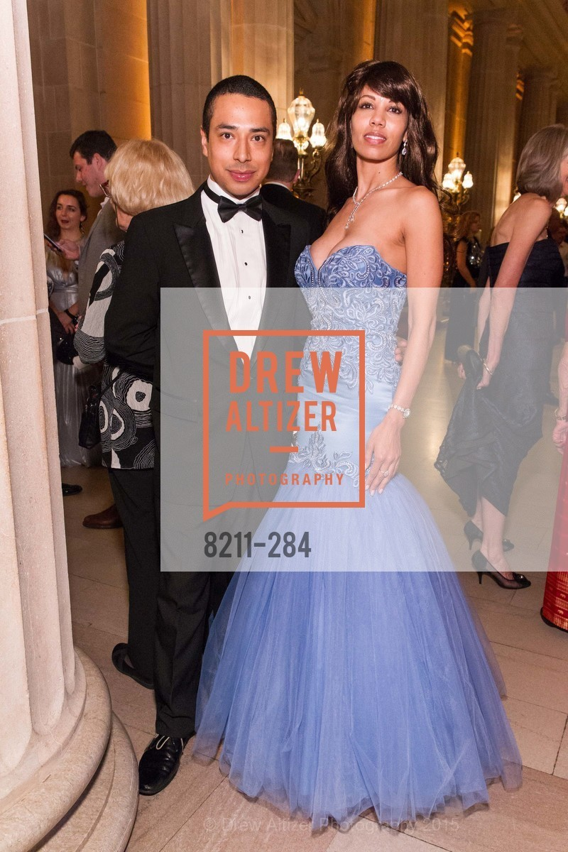 Walter Canas, Xaviera Batista, Opera Ball 2015: Moonlight & Music, War Memorial Opera House. 301 Van Ness Ave, September 11th, 2015,Drew Altizer, Drew Altizer Photography, full-service agency, private events, San Francisco photographer, photographer california