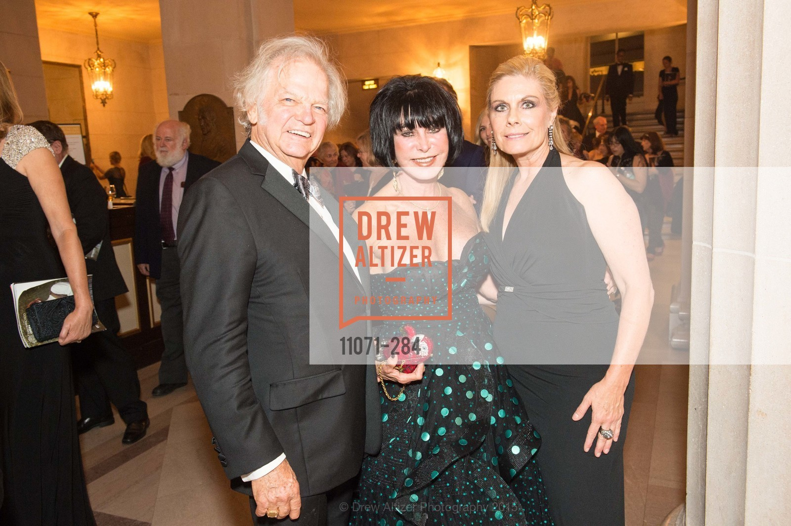 Michael Cabak, Marilyn Cabak, Jacqueline Jacoby, Opera Ball 2015: Moonlight & Music, War Memorial Opera House. 301 Van Ness Ave, September 11th, 2015,Drew Altizer, Drew Altizer Photography, full-service agency, private events, San Francisco photographer, photographer california